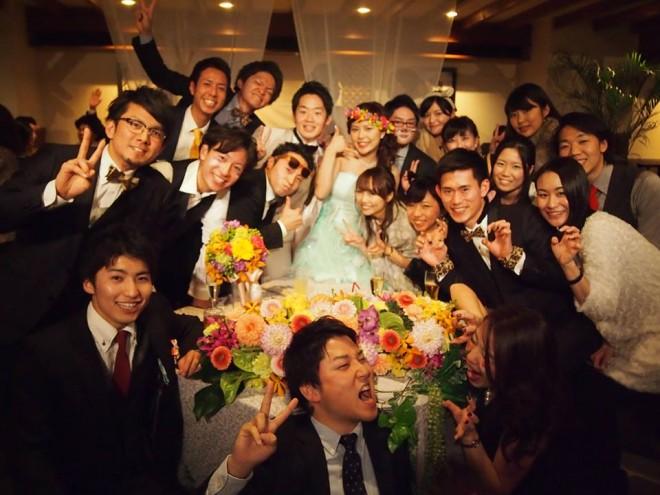 結婚式 二次会 服装