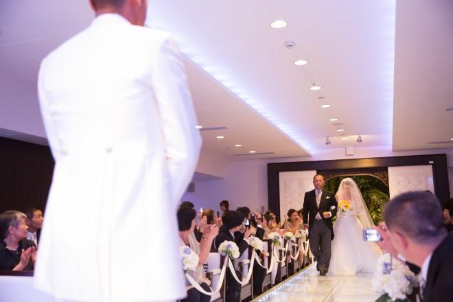 バージンロード,結婚式