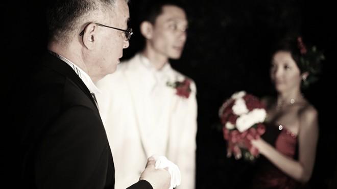 結婚式の感謝
