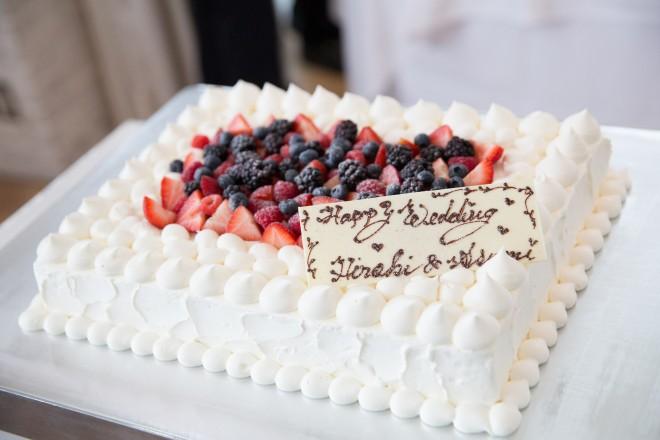 ケーキ 会費婚