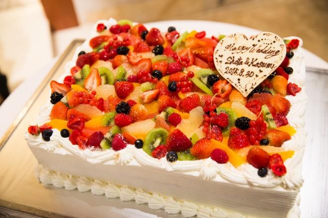 ウェディングケーキ,苺
