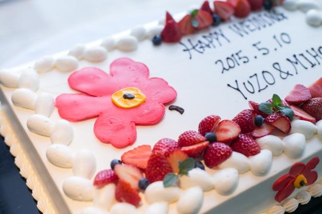 会費婚 ケーキ