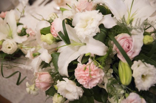 メイン,お花,装花,会費婚,ピンク