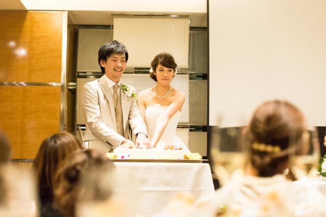 ウェディングケーキ,会費婚,立食