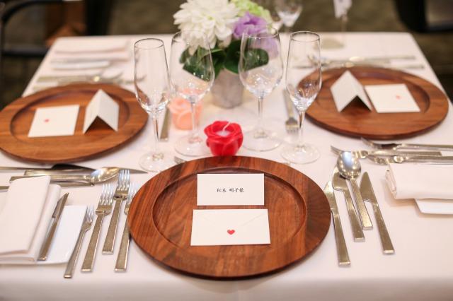 席札,ゲストテーブル,会費婚