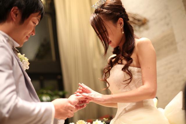 会費婚,指輪交換,人前式