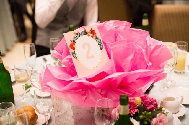 卓札,ゲストテーブル,会費婚