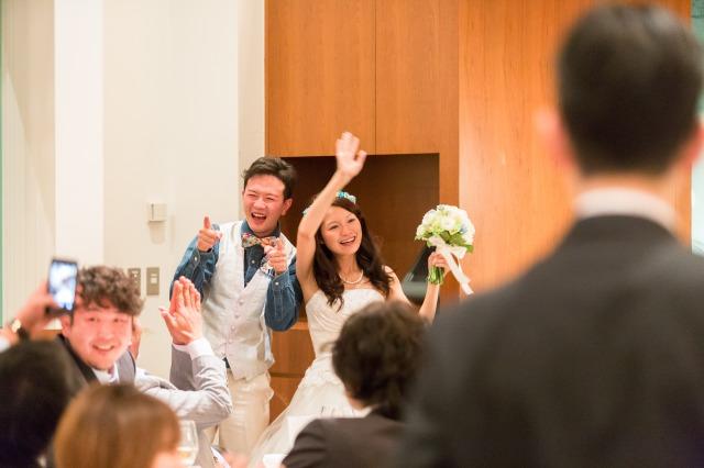 会費婚,結婚式
