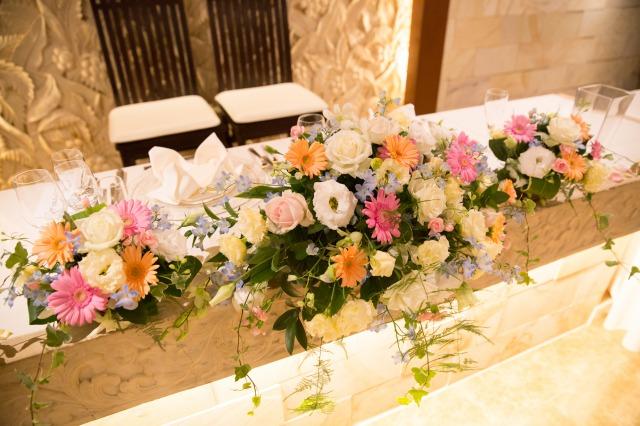 メイン装花,パステル