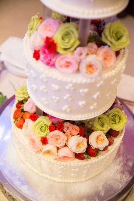 ウェディングケーキ,会費婚