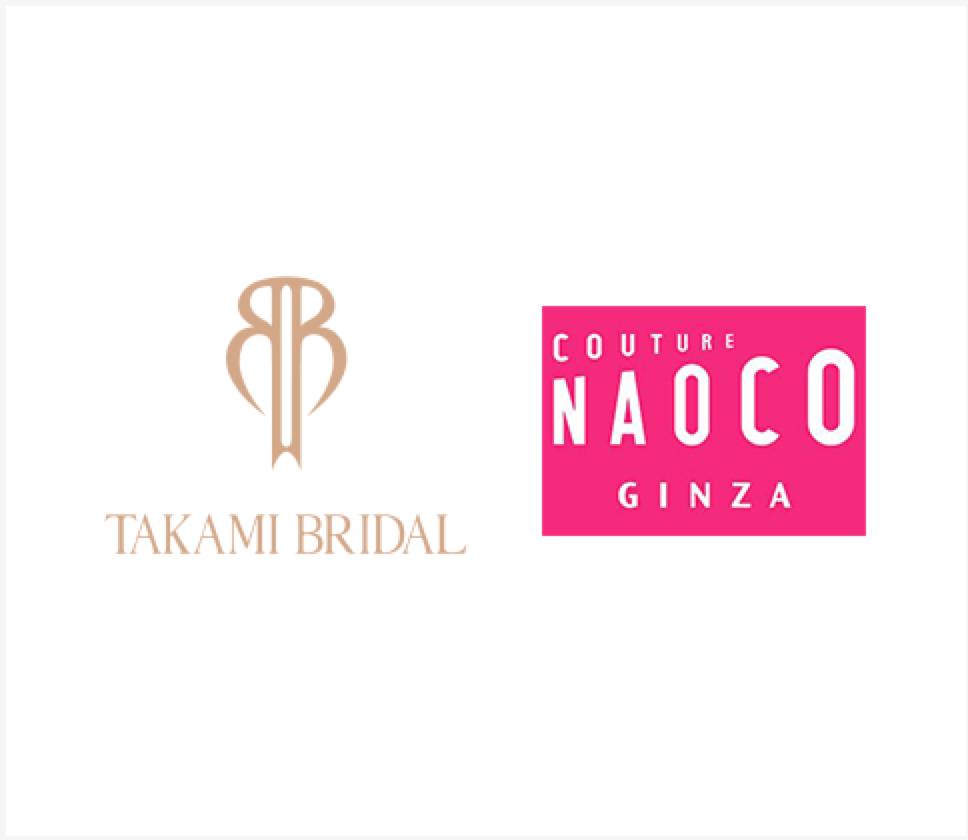 TAKAMI BRIDAL Couture Naoco Ginza