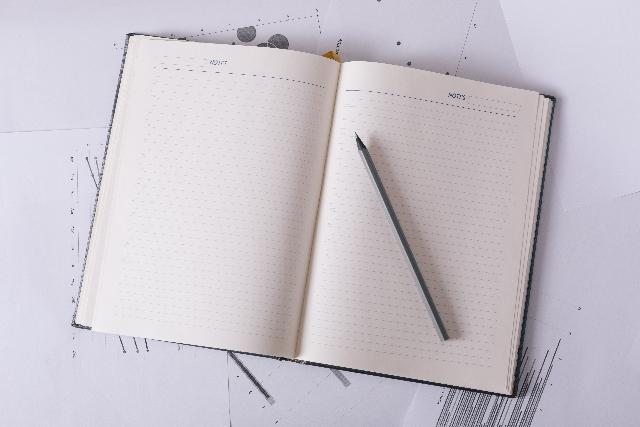 ノートのイメージ